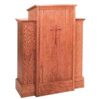 Wood Pulpit 25