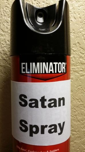 satan spray