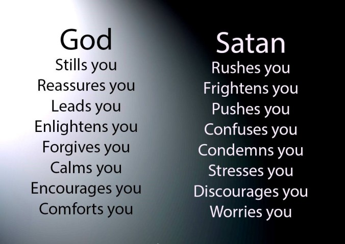 God vs satan (2)